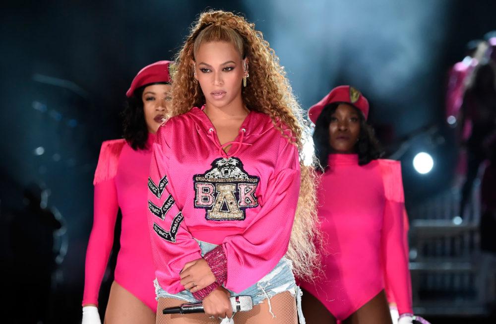 Image of Beyoncé during Coachella Weekend 2