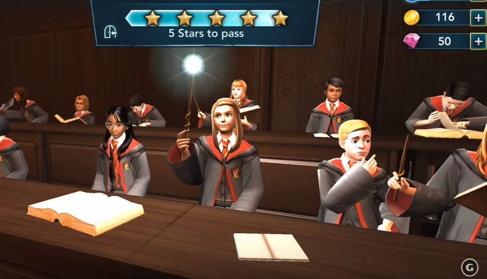 """Here are the classes you can take in the """"Harry Potter: Hogwarts Mystery"""" game."""