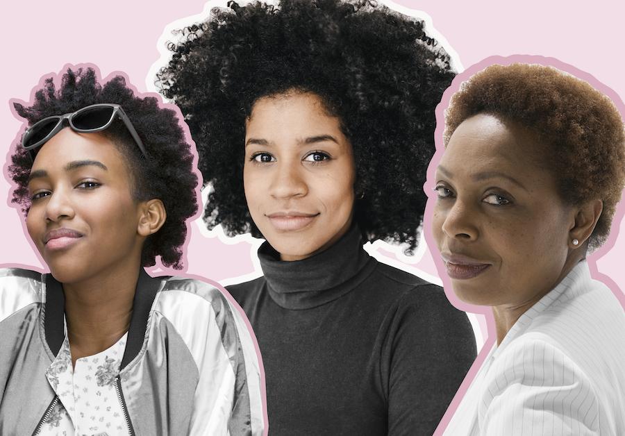 Black women collage