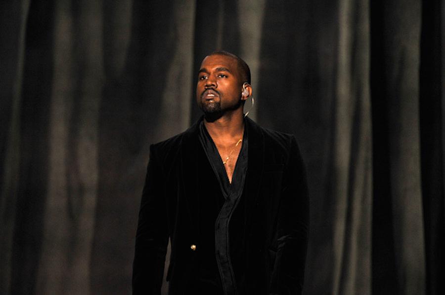 Kanye West at 57th Grammy Awards