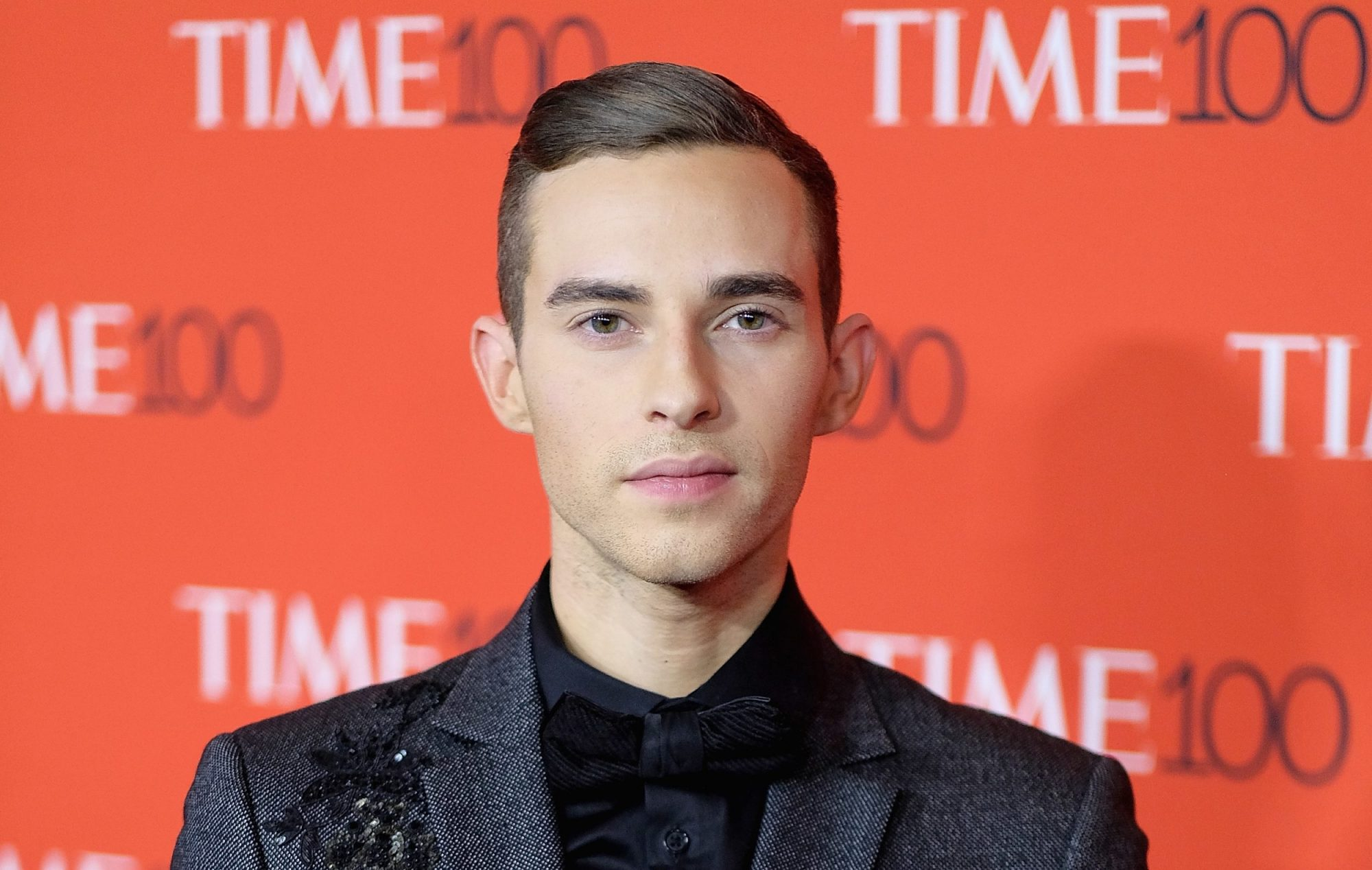 Photo of Adam Rippon at the 2018 Time 100 Gala at Lincoln Center
