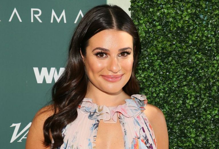 Picture of Lea Michele Engaged