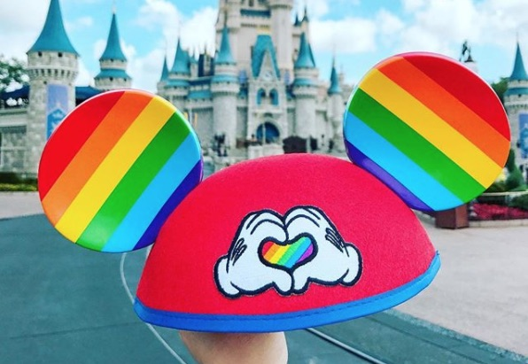 Picture of Mickey Mouse Pride Ears