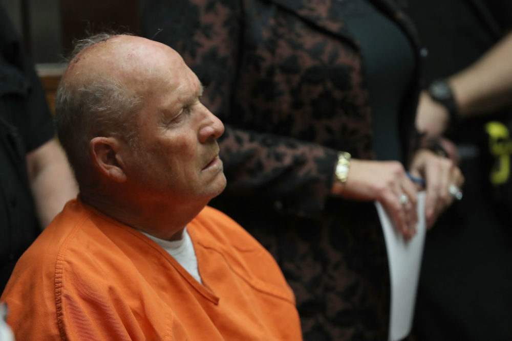 The Golden State Killer's ex-fiancee is being blamed for his crime spree.