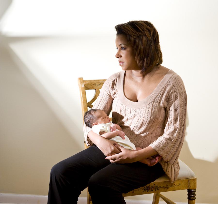 postpartum depression mom