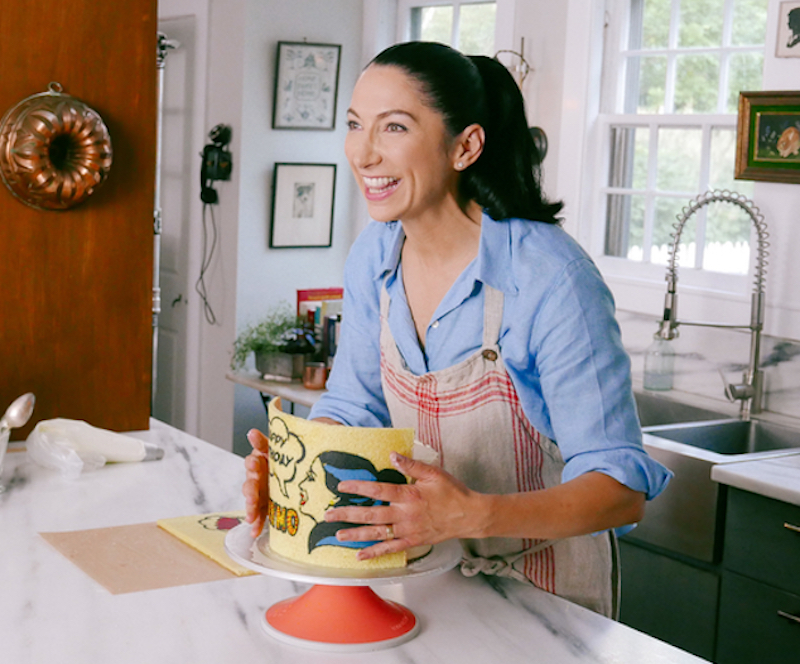 Gesine Prado on Bake in Vermont on Food Network