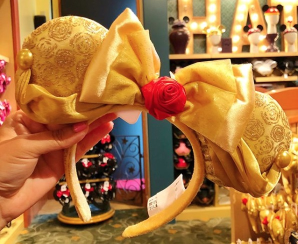 Picture of Beauty and the Beast Minnie Mouse Ears