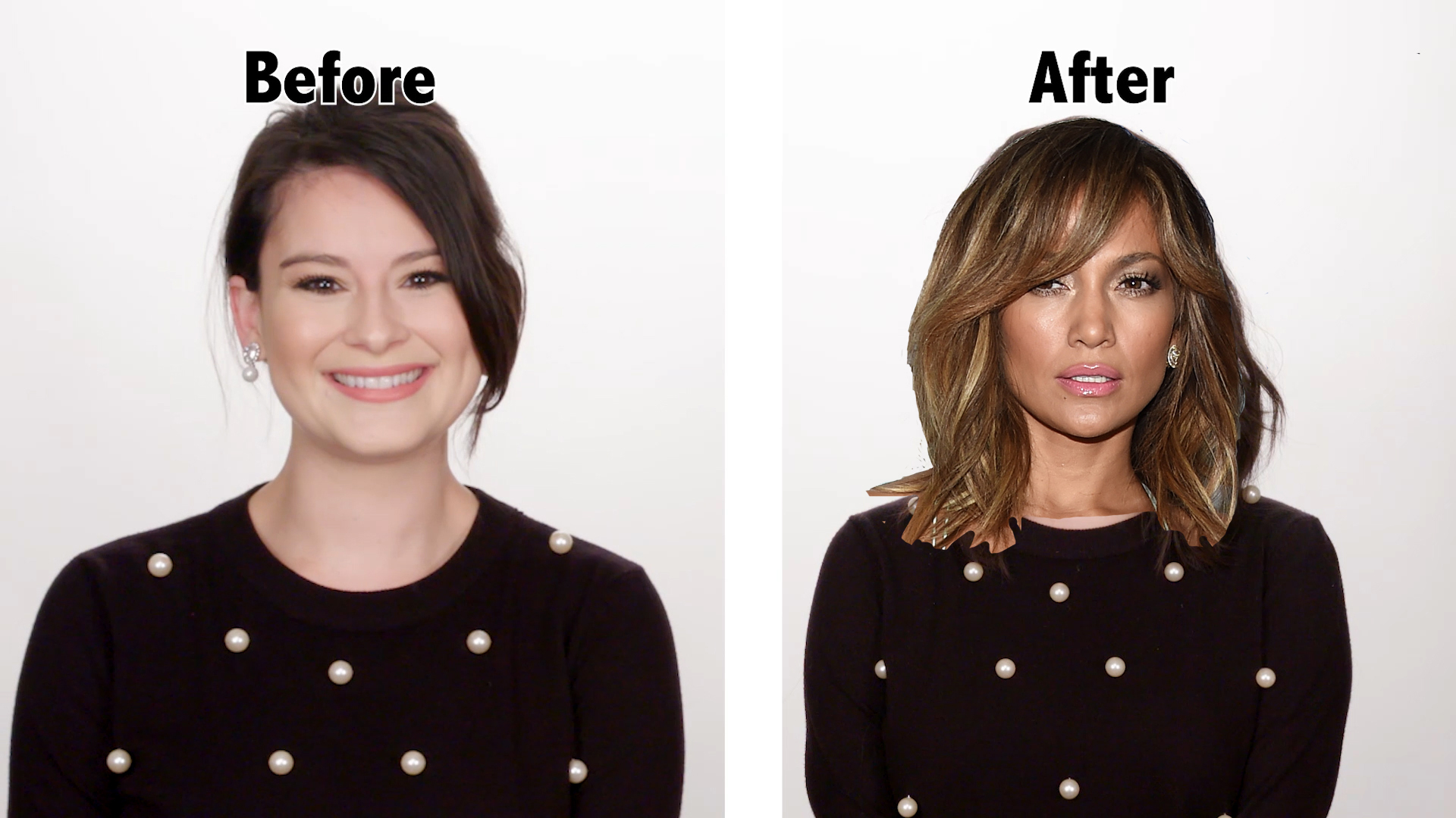 J.Lo Hair Makeover