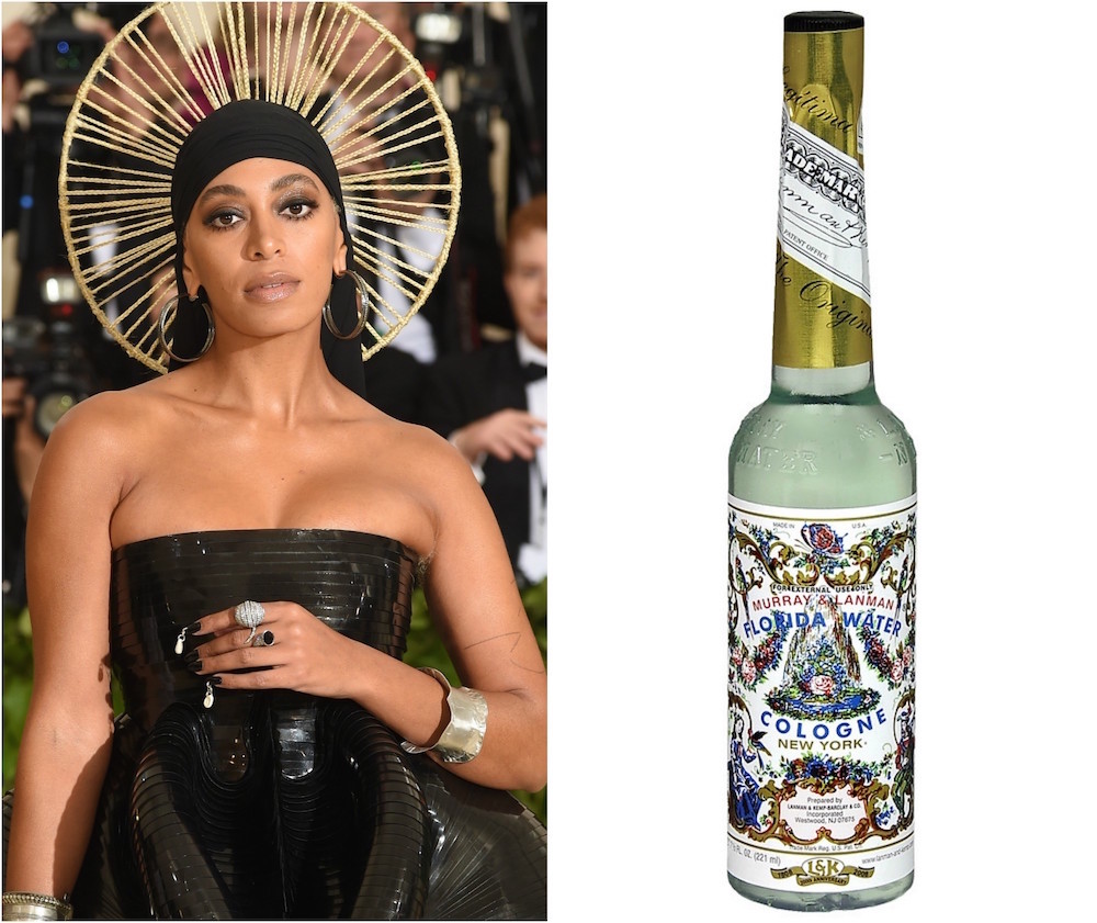 Solange Knowles Met Gala Florida Water