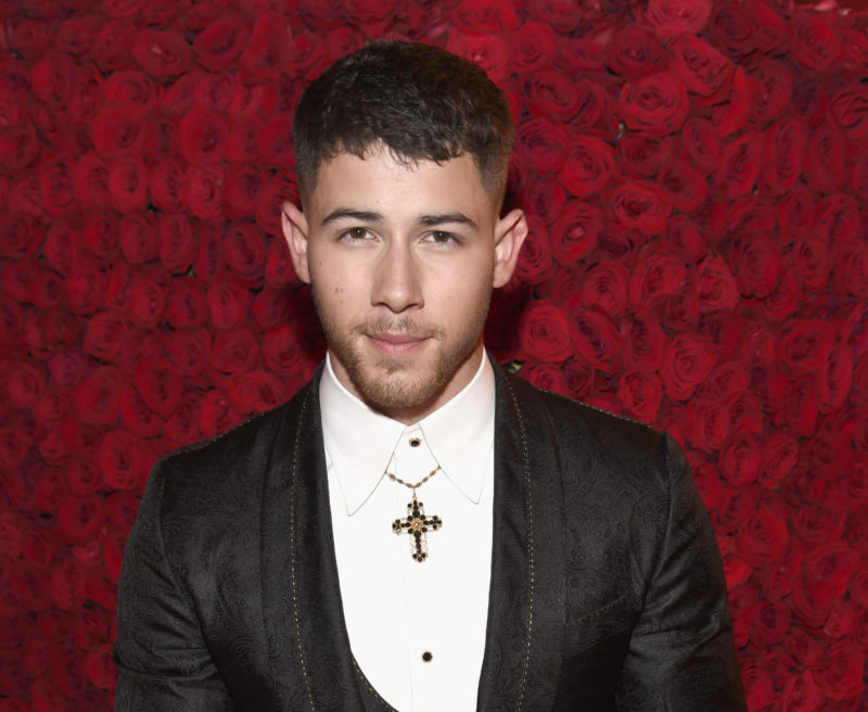 Image of Nick Jonas at the Met Gala