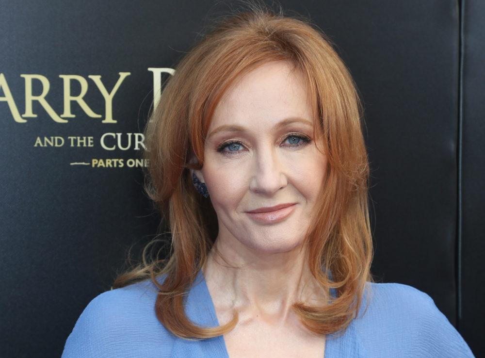 J.K. Rowling Trump's handwriting