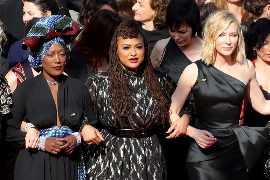 Picture of Cannes March Cate Blanchett Ava DuVernay