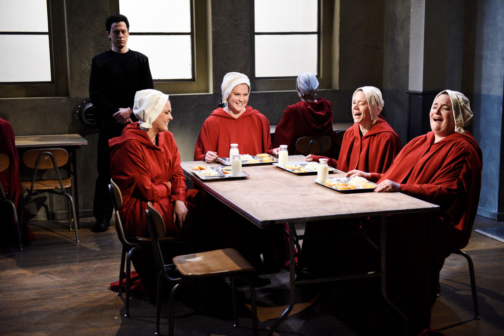 Picture of SNL Handmaid's Tale Sex and the City