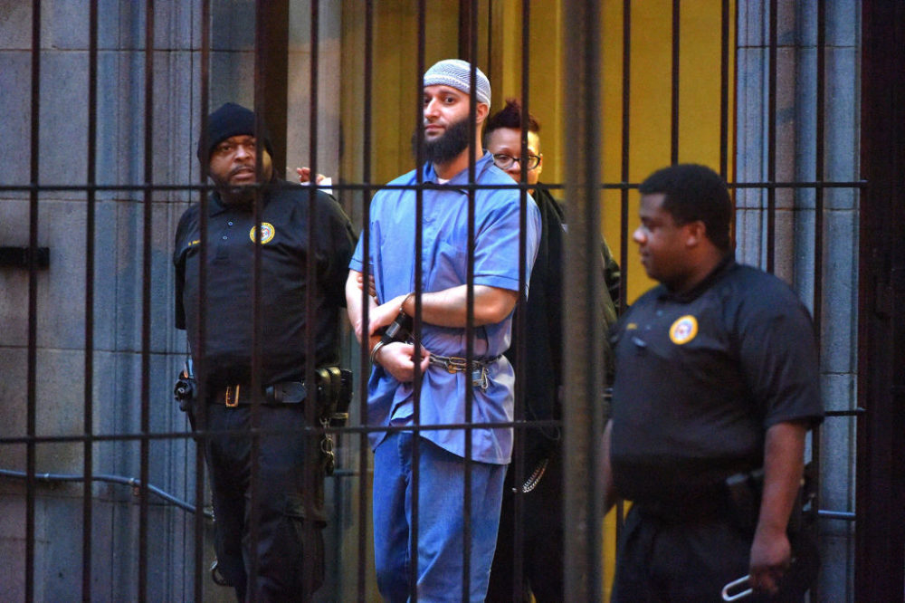 "HBO is making a docuseries about ""Serial"" subject Adnan Syed."