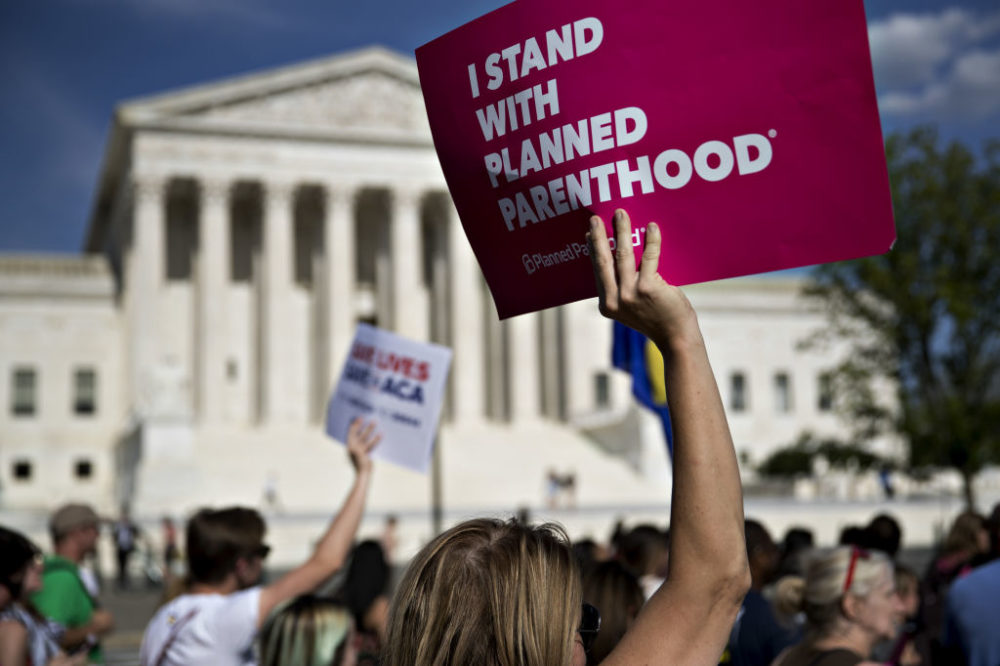 The Trump administration is expected to announce a new policy that would defund Planned Parenthood.