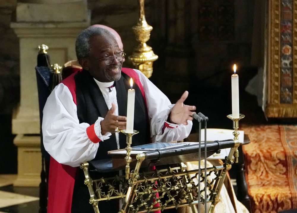 Picture of Reverend Michael Curry