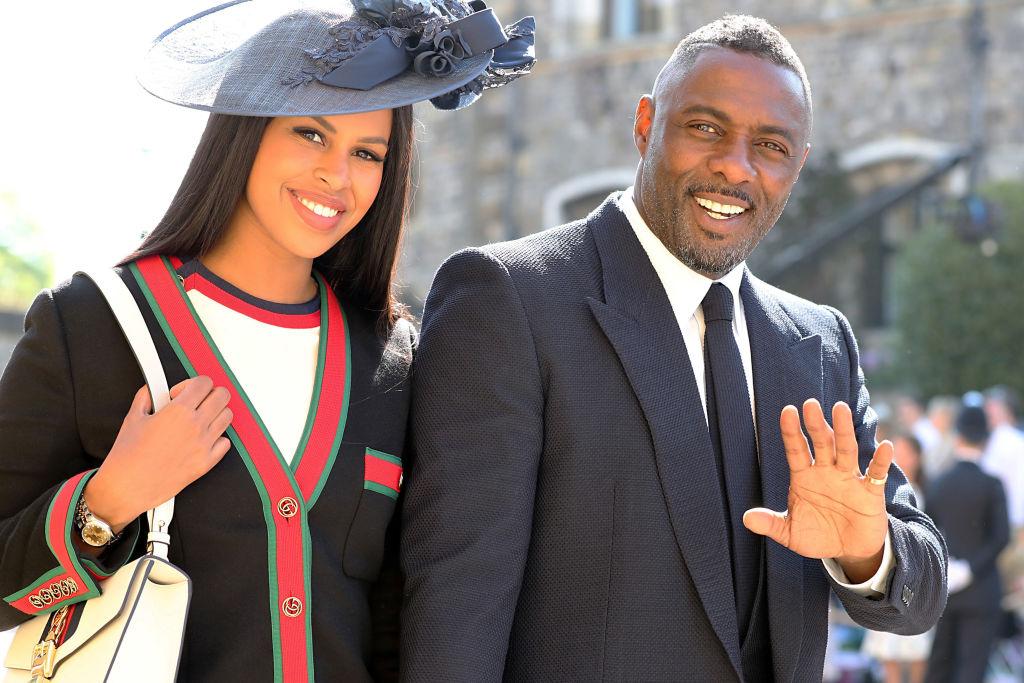 Picture of Idris Elba Royal Wedding