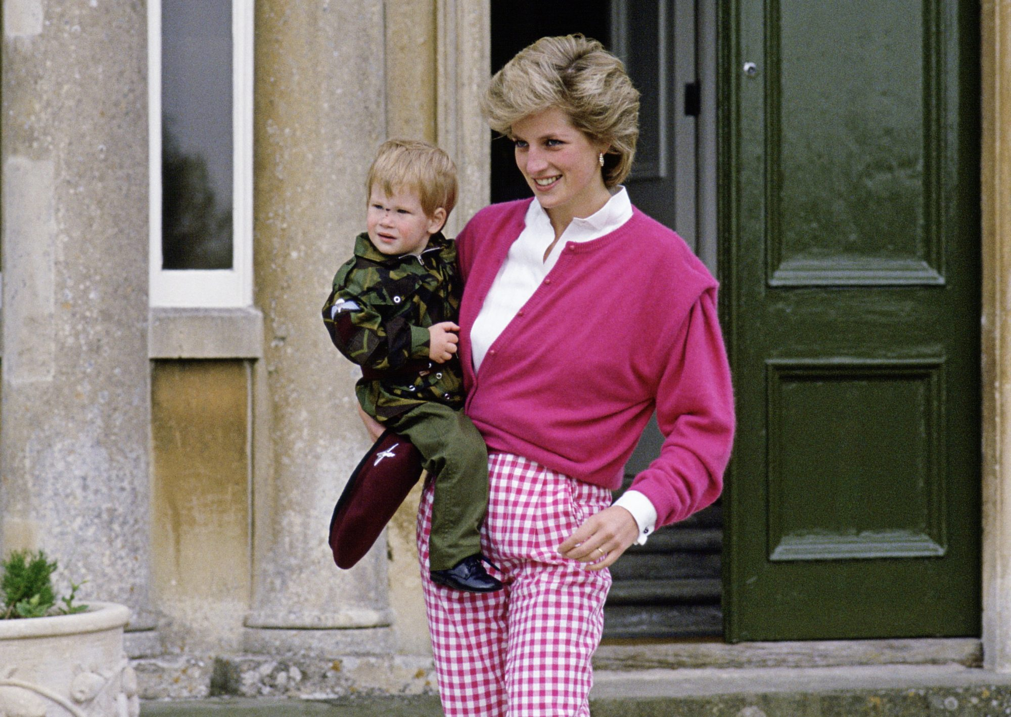 Picture of Prince Harry Princess Diana
