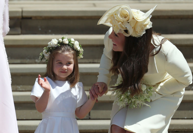 Picture of Princess Charlotte Kate Middleton Wave Crop
