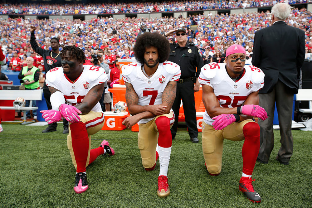 "The NFL has announced a ""compromise"" about its policy for players' protests."
