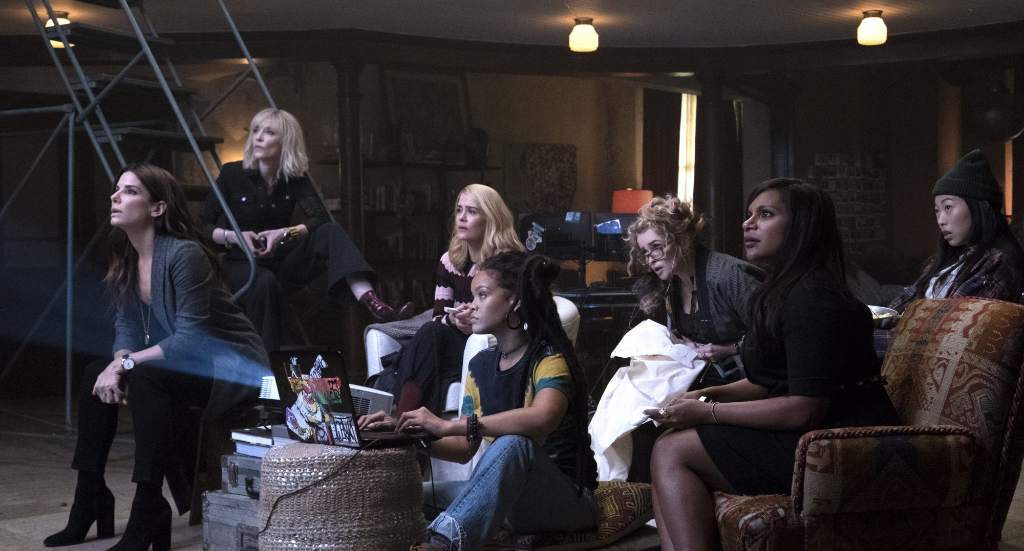 Picture of Sandra Bullock Ocean's 8 Female Friendship