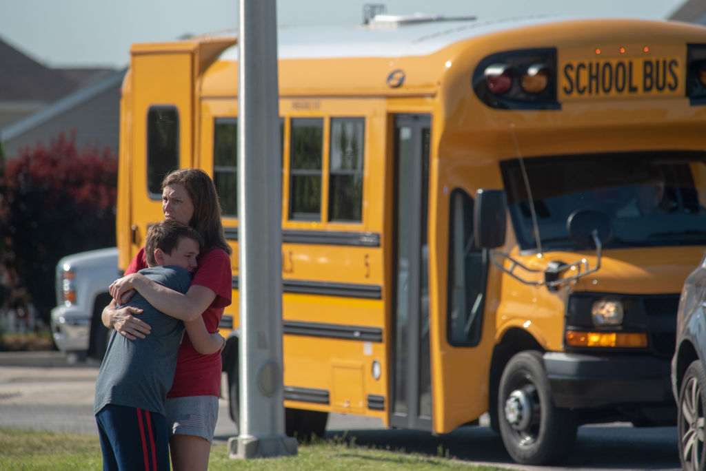 Picture of Noblesville School Shooting