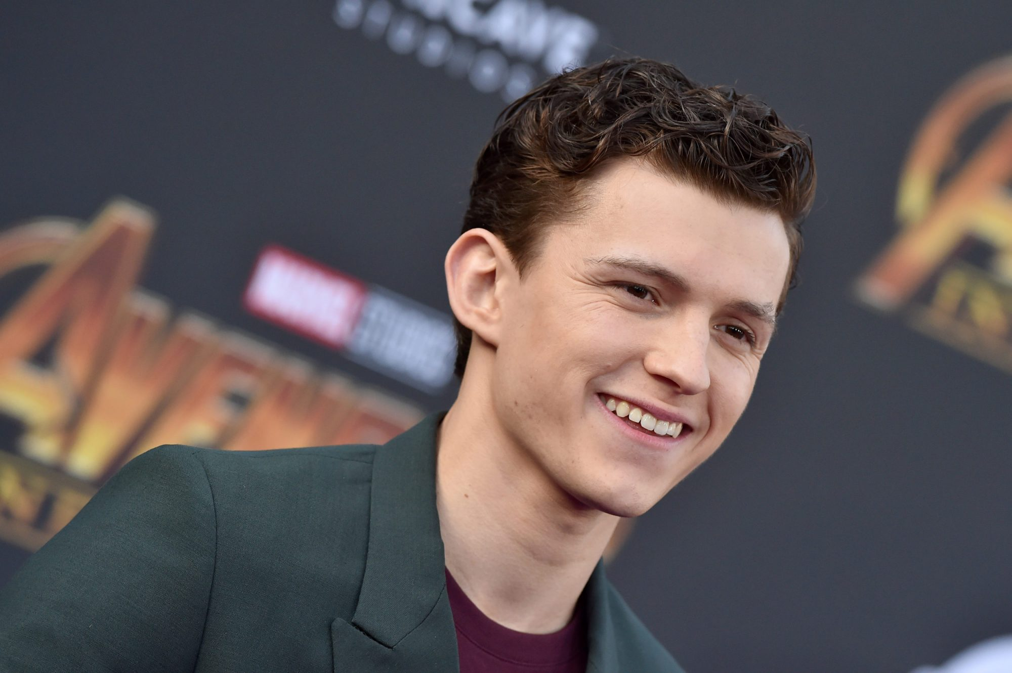 """Photo of Tom Holland at """"Avengers: Infinity War"""" Premiere"""