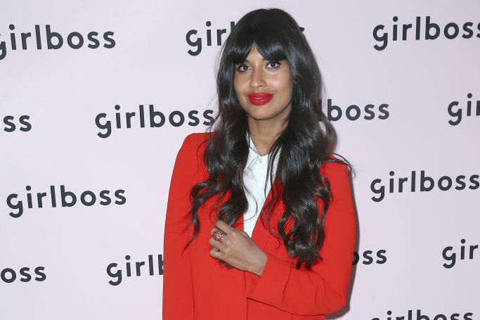 Picture of Jameela Jamil Airbrushing
