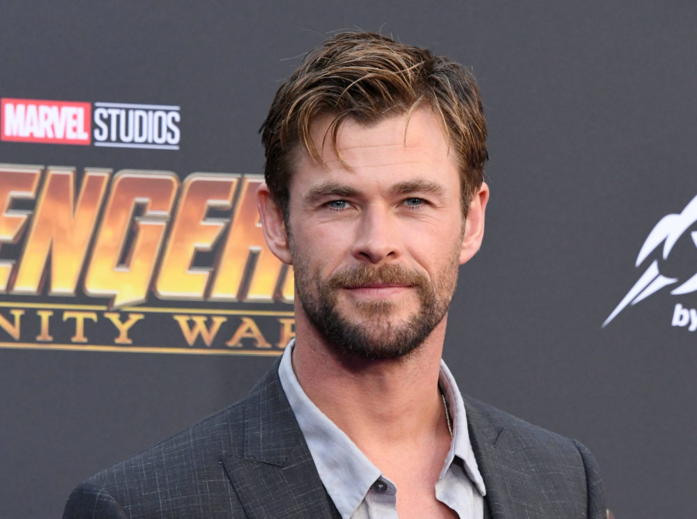Chris Hemsworth at Avengers Infinity War premire