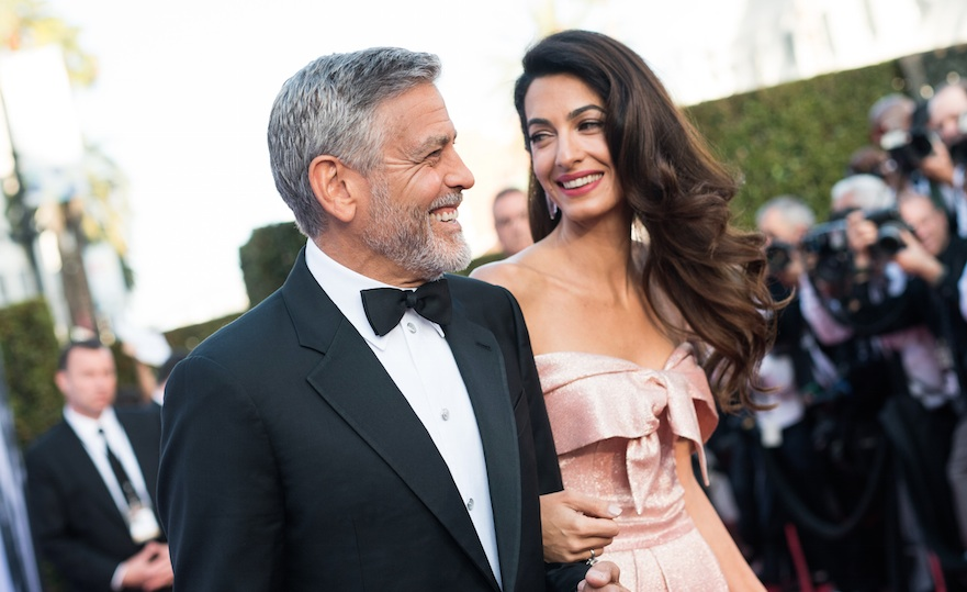 George and Amal