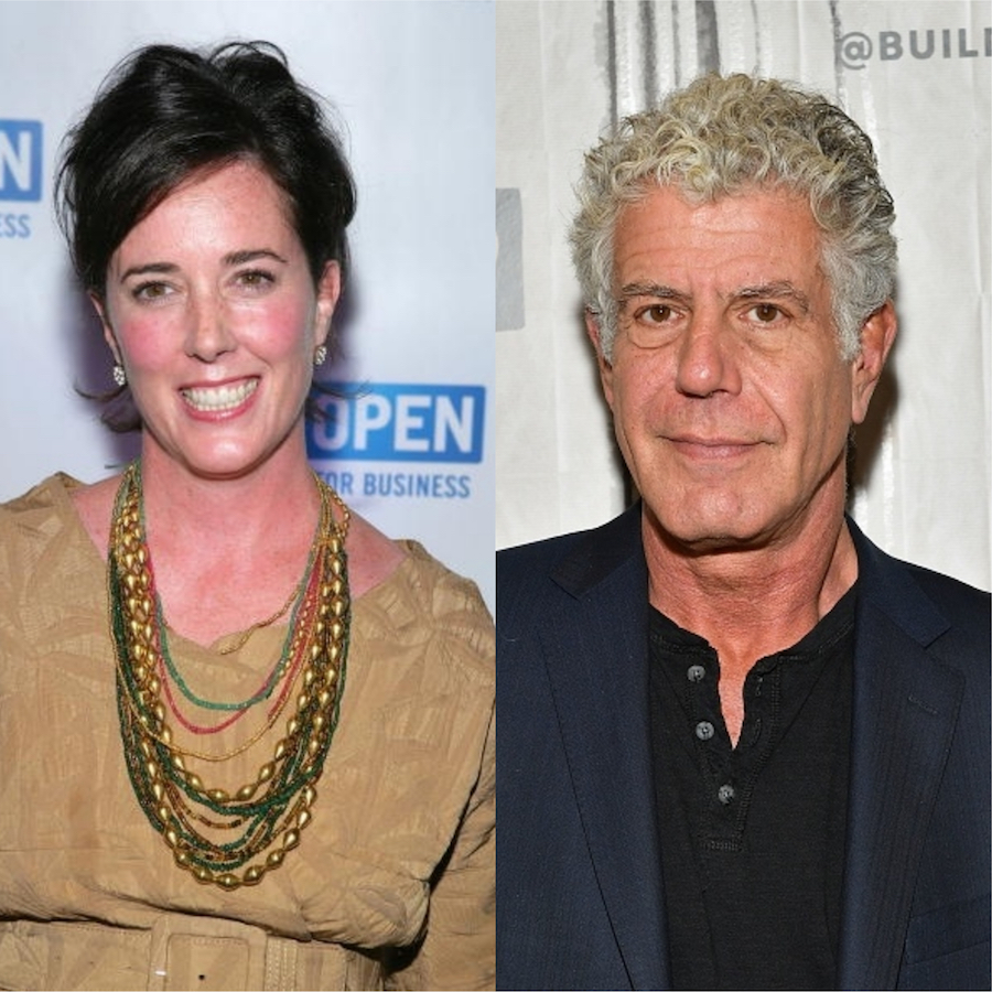 Spitscreen image of Kate Spade and Anthony Bourdain