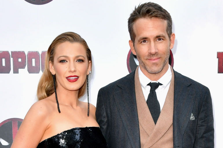 Picture of Blake Lively Ryan Reynolds Twin