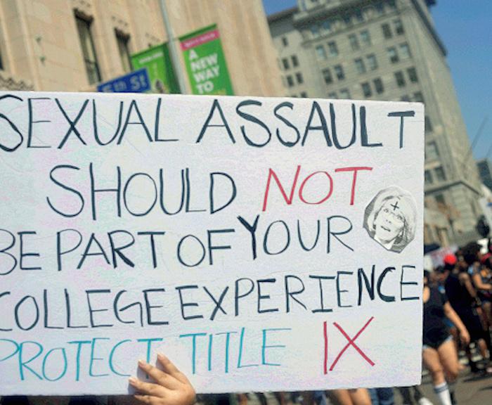Protester at Amber Rose SlutWalk