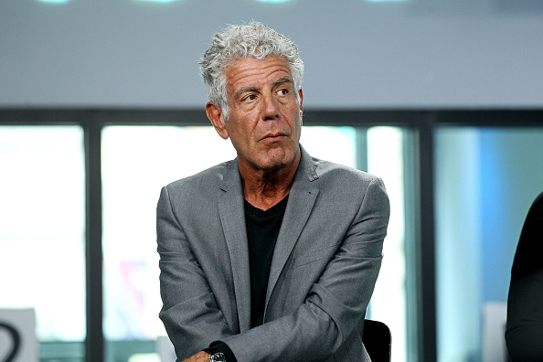 "Anthony Bourdain discussing documentary ""Jeremiah Tower"""