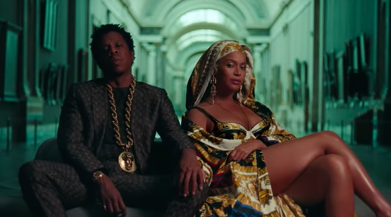 """Beyoncé and Jay-Z in """"APESHIT"""""""