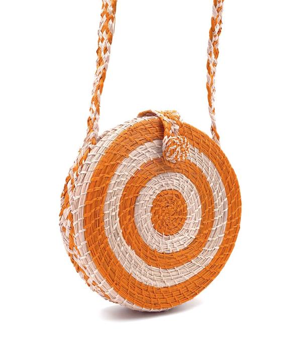 Ban.do AKumal Woven circle Crossbody Bag