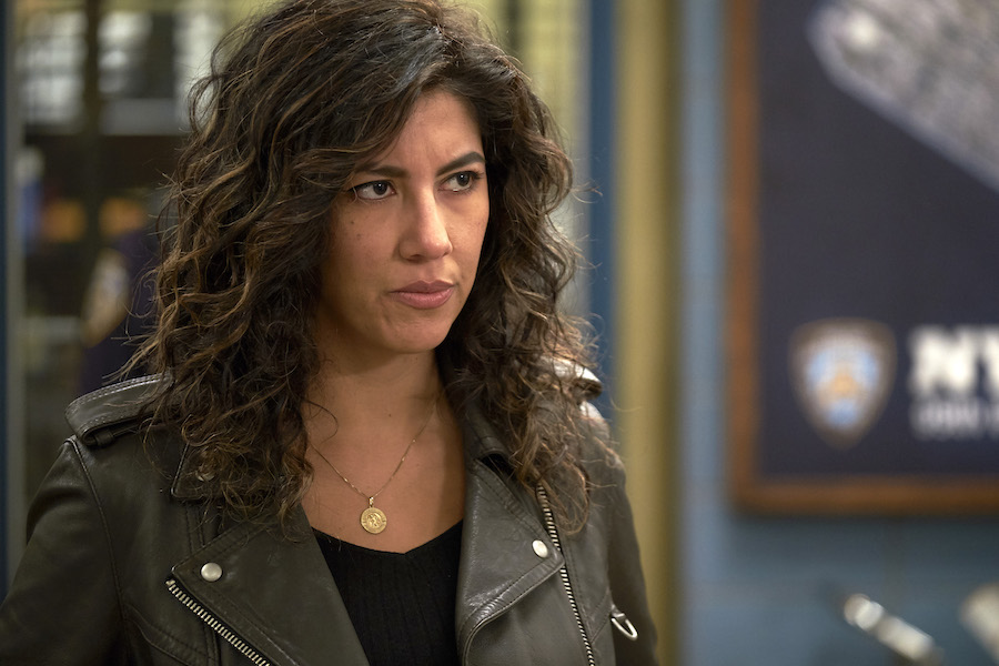 Officer Rosa Diaz on Brooklyn Nine-Nine