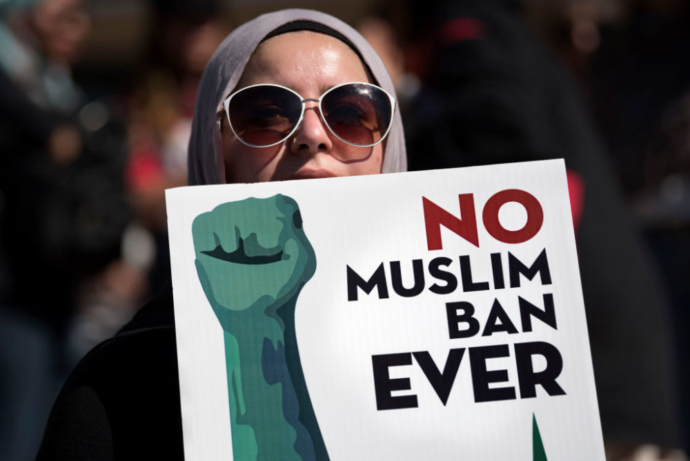 The Supreme Court voted to uphold President Donald Trump's Muslim travel ban