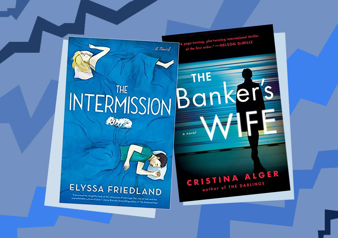 Picture of Books Coming Out This Week The Intermission The Banker's Wife Books