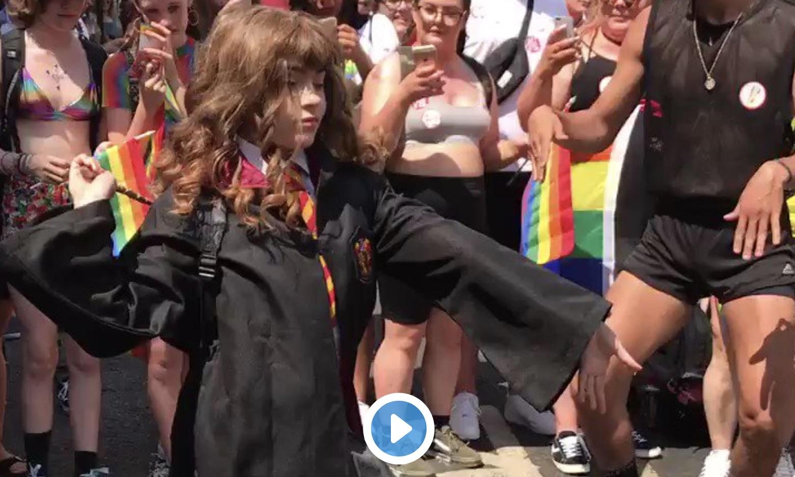 dancing Hermione