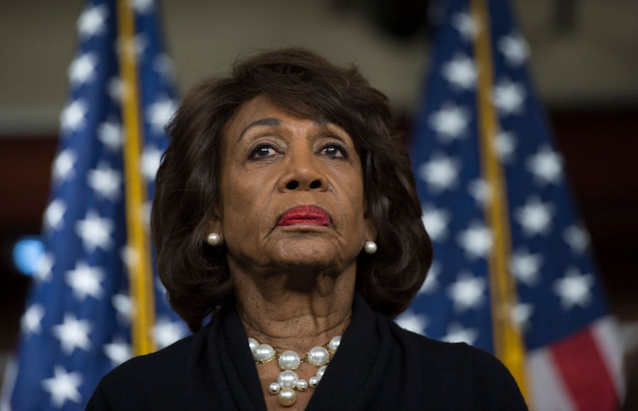 Maxine Waters speaking about Russia investigation on Capitol Hill