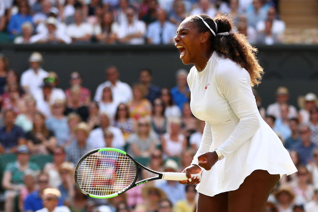 Picture of Serena Williams Wimbledon