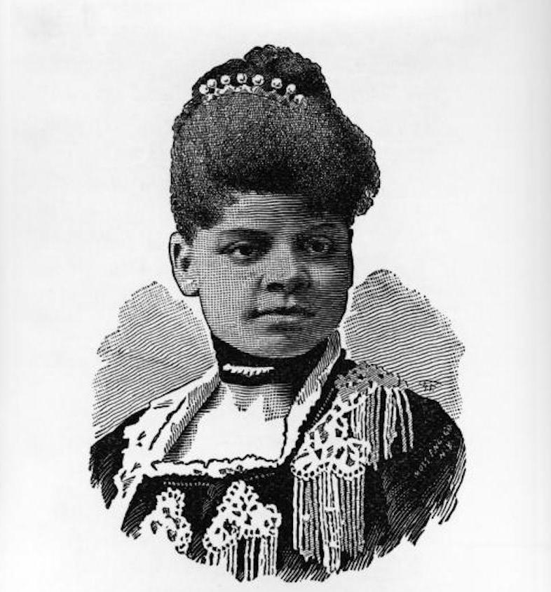 Illustration of Ida B. Wells