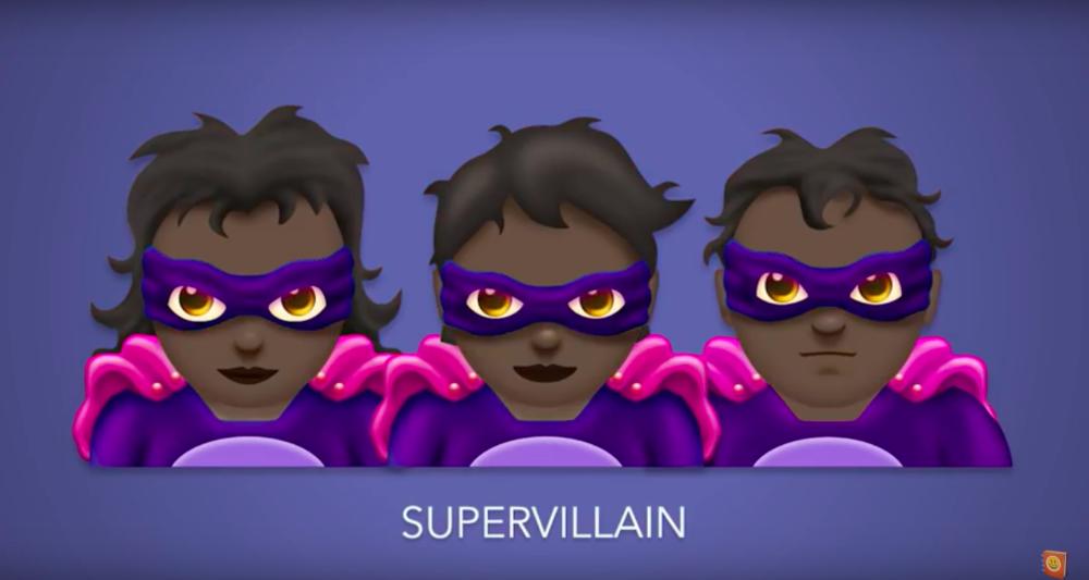 super villain emoji