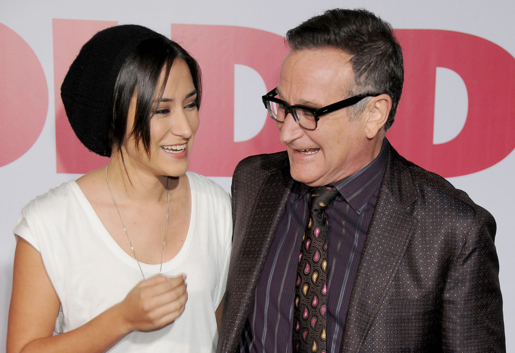 Picture of Zelda Williams Robin Williams Tribute