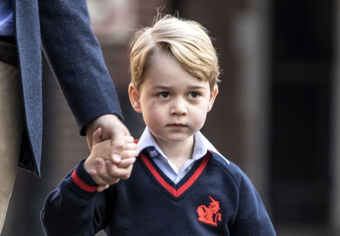 Picture of Prince George Birthday Portrait