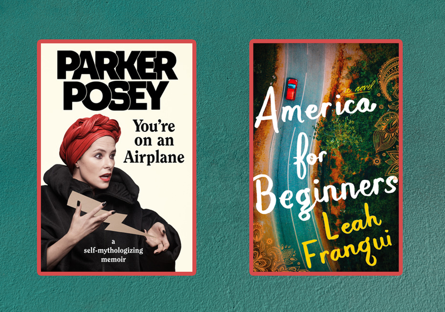Picture of Books Coming Out This Week You're on an Airplane