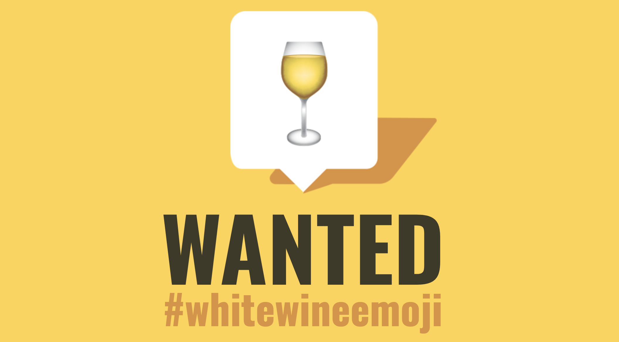 white wine emoji