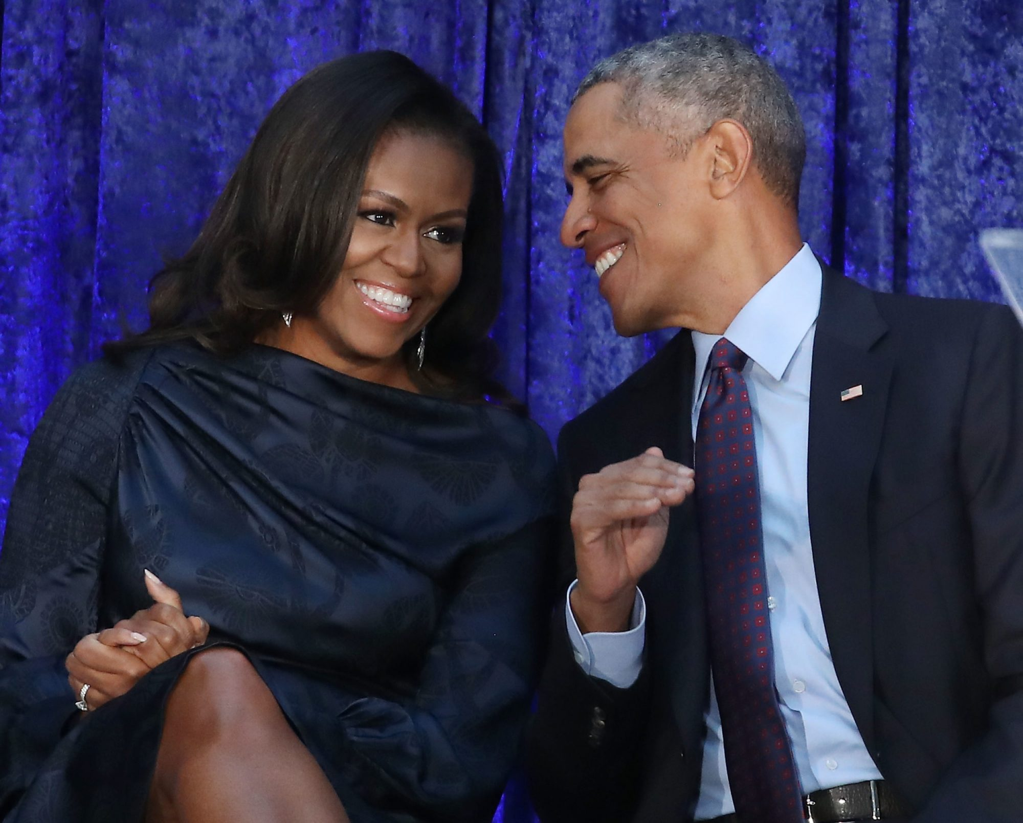 Photo of Barack and Michelle Obama Danced at On the Run II Tour