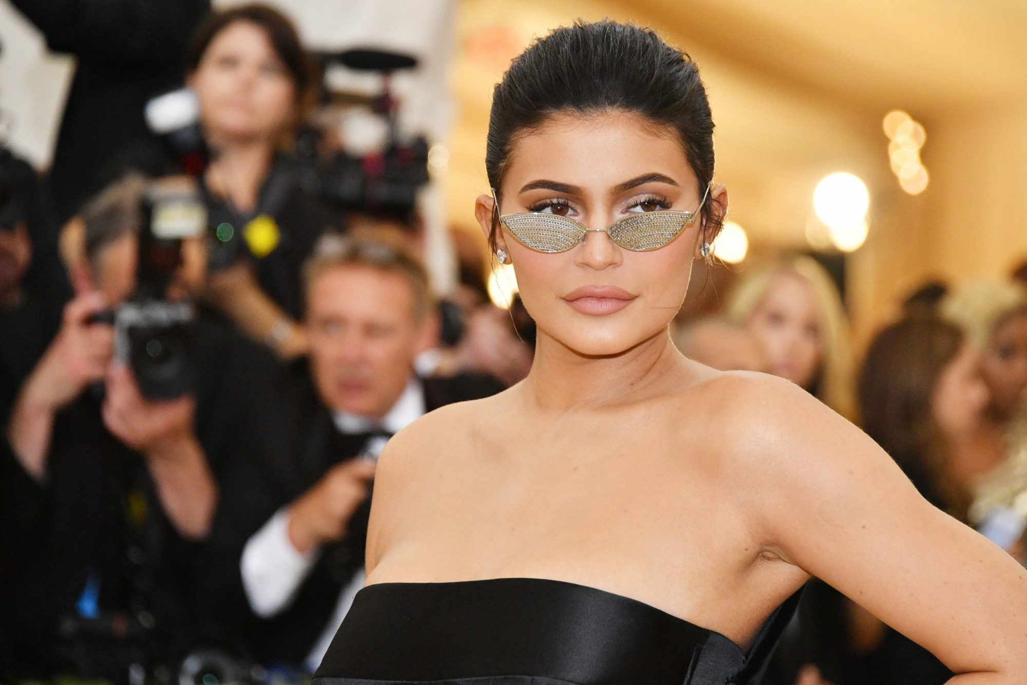 Photo of Kylie Jenner at the 2018 Met Gala